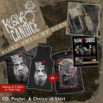 CD, Poster & Choice of Shirt Package