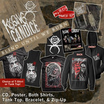 CD, Poster, Both Shirts, Tank Top, Bracelet, & Zip-Up Package