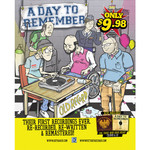 A Day To Remember - Old Record Poster
