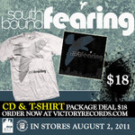 Soutbound Fearing CD And Tshirt  Package