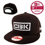 Black And White Logo New Era Hat