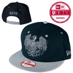 Black And Silver New Era Hat