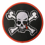 Blood For Blood Skull Patch