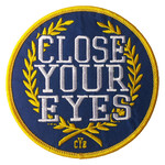 Close Your Eyes Logo Patch