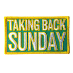 Taking Back Sunday Logo Patch
