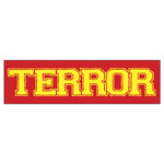 Terror Logo (Red) Sticker
