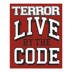 Live By The Code Sticker