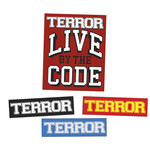 Terror - Live By The Code 4 Sticker Pack