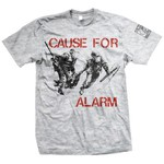 Cause For Alarm - Police (Ash Grey)