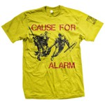 Cause For Alarm - Police (Yellow)