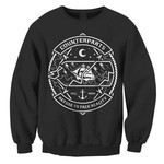 Broken Bottle Crew Neck Sweatshirt
