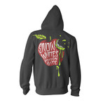 Bad Apple Zip Up Hoodie