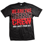 Horror Crew (Red And Black) T-Shirt