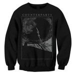 Outcast (Black on Black) Crew Neck Sweatshirt