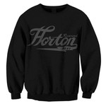 Logo (Black on Black) Crew Neck Sweatshirt