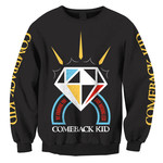Diamond Crew Neck Sweatshirt