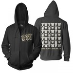 Checkered Food Chain Zip Up Hoodie