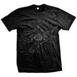 Arrow Logo (Black On Black) T-Shirt