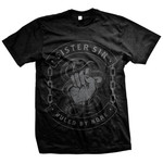 Ruled By None (Black On Black) T-Shirt
