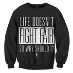 Fight Fair Crew Neck Sweatshirt
