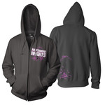 Dissolve and Decay Zip Up Hoodie