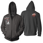 Bloody Bride Zip Up Hoodie