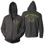 Brass Knuckles Zip Up Hoodie