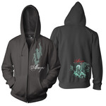 Reaching Out Zip Up Hoodie