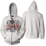 Fight Of Angels Zip Up Hoodie