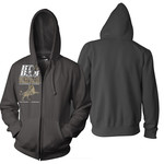 Lions And Kings Zip Up Hoodie