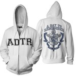 University Zip Up Hoodie