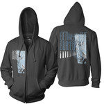 Picket Fence Zip Up Hoodie