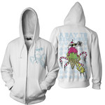 Ice Cream Bling Zip Up Hoodie