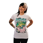 Dragon Vs. Elephant Girly Tee