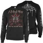 All Out War - Into The Killing Fields LP and Long Sleeve