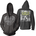 Golden Eagle Zip Up Hoodie