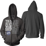 My Worship My Life Zip Up Hoodie