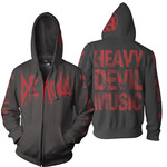 Heavy Devil Music Zip Up Hoodie
