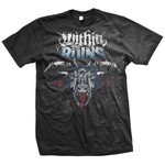 Within The Ruins - Omen Red Vinyl And T-Shirt