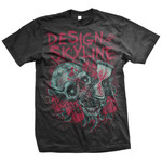 Skull Hour Glass T-Shirt