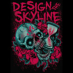 Design The Skyline - Skull Hour Glass