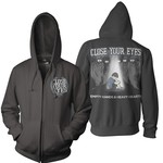 Empty Hands And Heavy Hearts Zip Up Hoodie