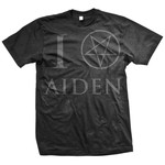 Worship (Black on Black) T-Shirt