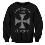 Iron Cross Black On Black Crew Neck Sweatshirt