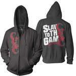 Slave To The Game Zip Up Hoodie