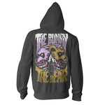 I'm Scared Now Zip Up Hoodie