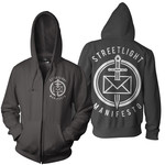 Dead Letter (Black) Zip Up Hoodie
