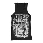 Gas Mask Girl Tank Top