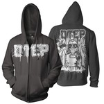 Gas Mask Girl Zip Up Hoodie