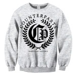 Olive Branch Crew Neck Sweatshirt